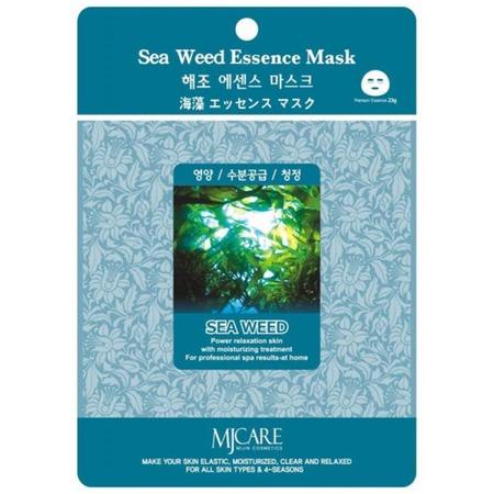 Купить Маска увлажняющая для лица MJ Care с экстрактом морских водорослей