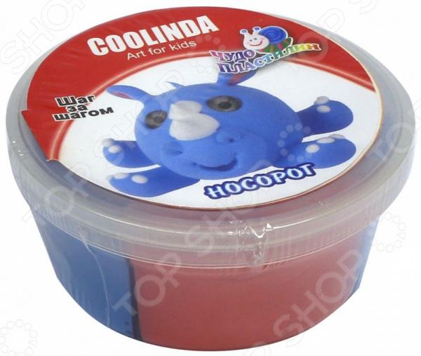 Набор для лепки из пластилина Coolinda «Носорог»