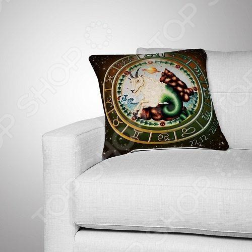 Подушка декоративная МарТекс «Козерог»