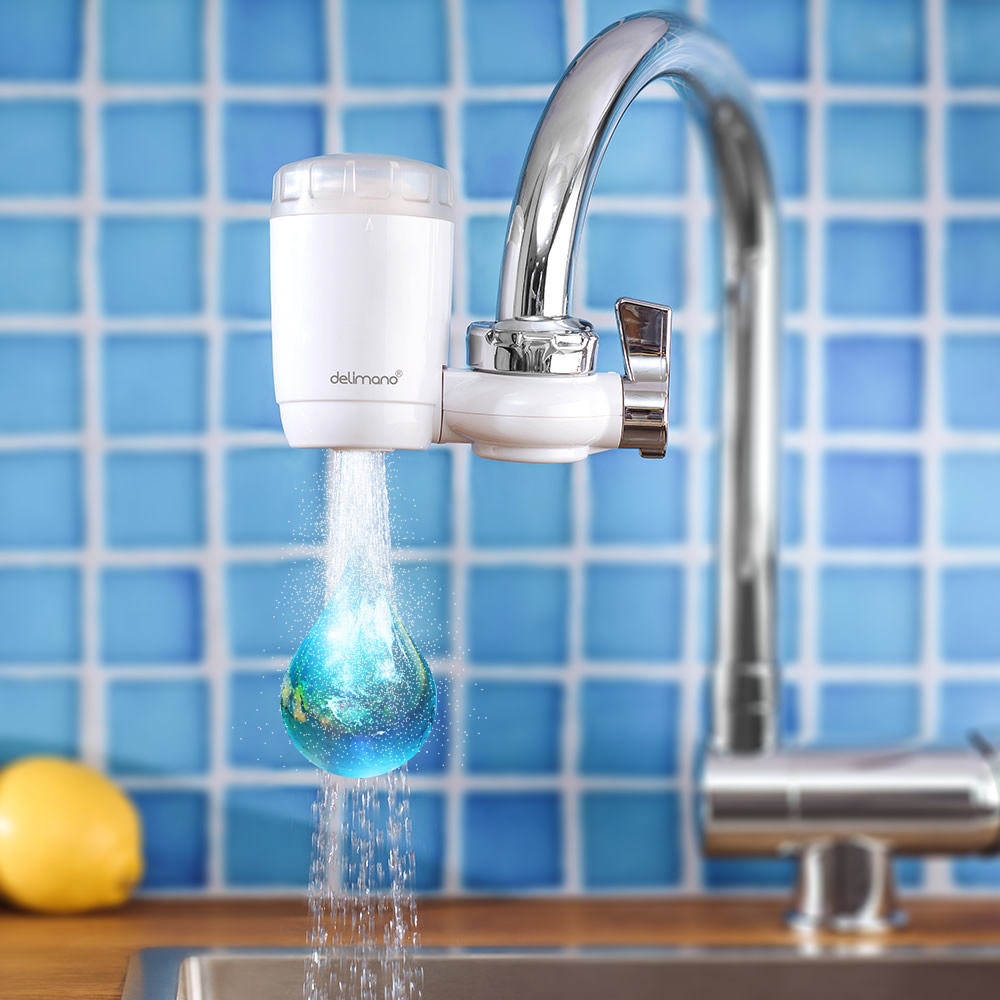 Универсальный фильтр-насадка на кран Delimano «Чистая вода»