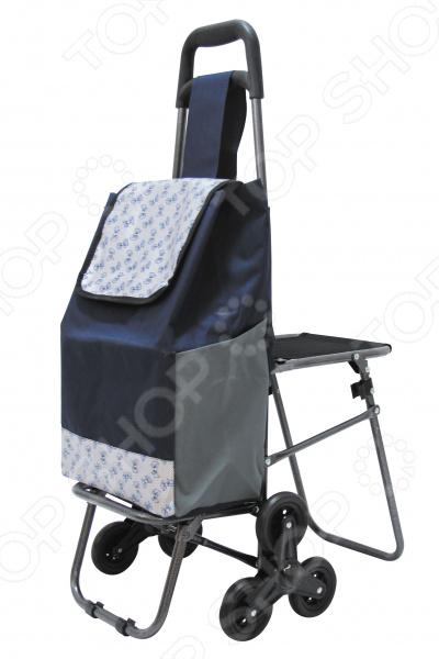 Тележка с сумкой и сиденьем. В ассортименте