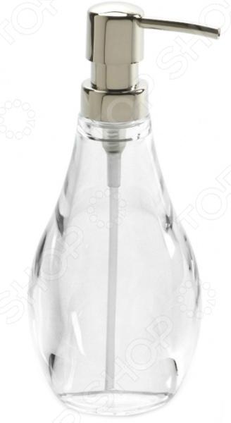 Диспенсер для мыла Umbra Droplet. Цвет: прозрачный