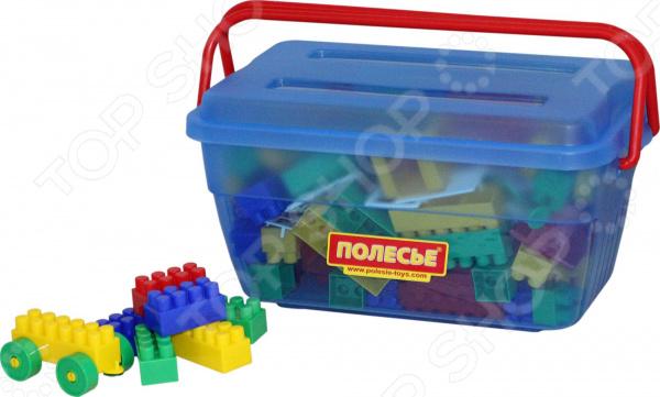 Конструктор игровой POLESIE «Строитель» в контейнере Конструктор игровой POLESIE «Строитель» /124