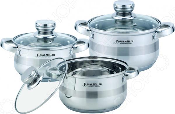 Набор посуды для готовки Frank Moller Vanessa marlies moller specialist сухой шампунь придающий объем с шелком 4г