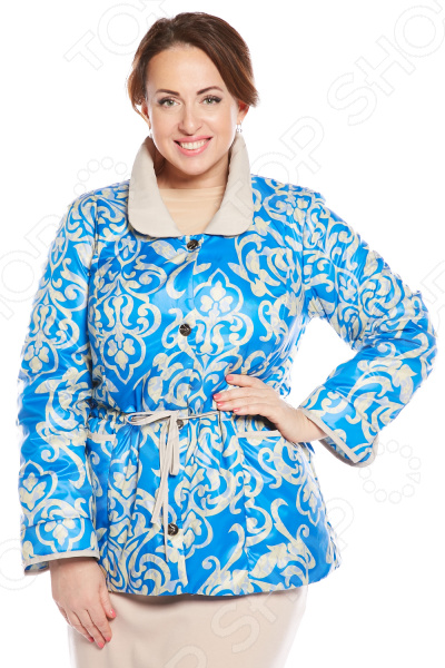 Куртка Гранд Гром «Радостный день». Цвет: голубой