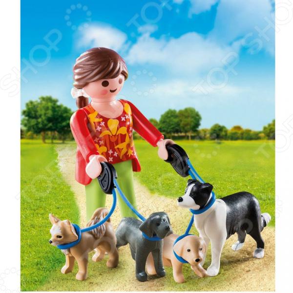 Конструктор игровой Playmobil «Экстра-набор: Выгул собак»