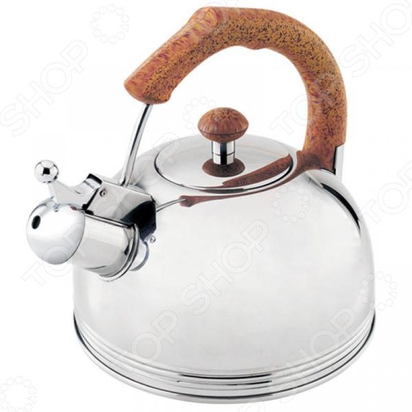 цена на Чайник со свистком Wellberg WB-511