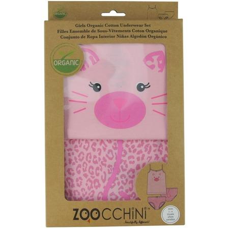 Купить Комплект нижнего белья для девочки Zoocchini «Леопард»