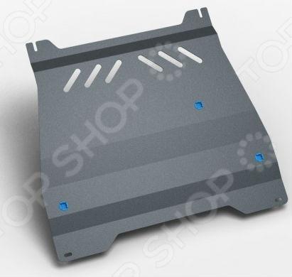 Комплект: защита КПП и крепеж Novline-Autofamily Mitsubishi Pajero IV 2006: 3,2 дизель АКПП