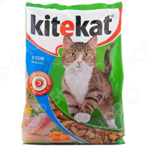 Корм сухой для кошек Kitekat «Улов рыбака»