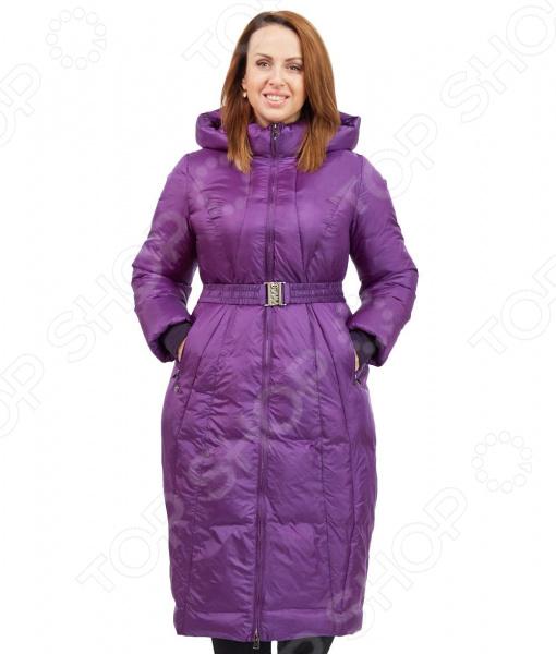 Пальто D`imma «Фернанда». Цвет: фиолетовый