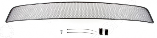 Сетка на бампер внешняя Arbori для Infiniti QX80, 2014. Цвет: черный бампер jc sportline infiniti