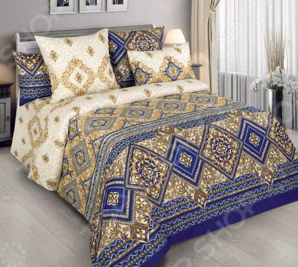 цена Комплект постельного белья Белиссимо «Палаццо» онлайн в 2017 году