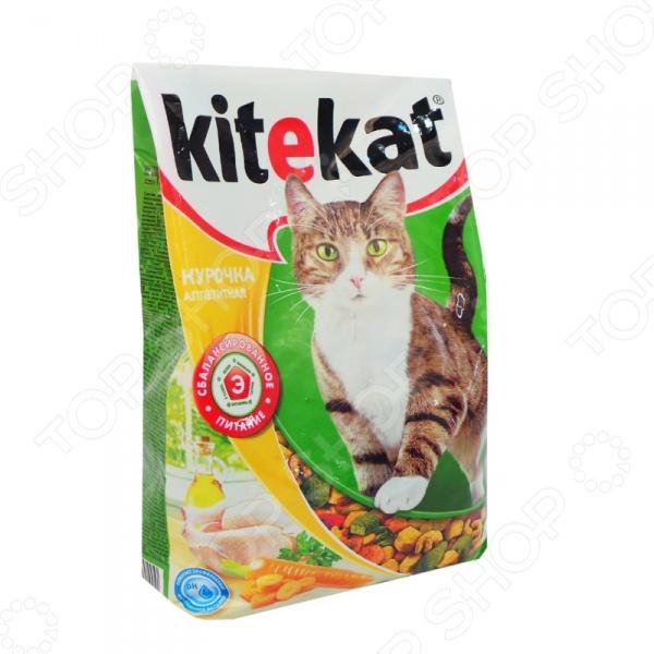 Корм сухой для кошек Kitekat «Курочка аппетитная»