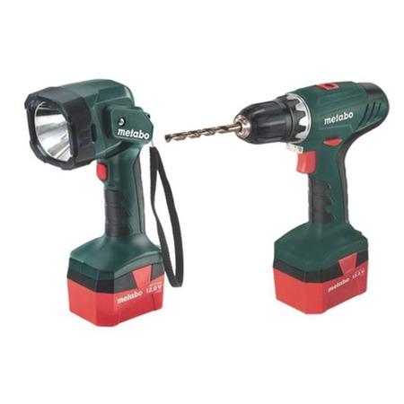 Купить Дрель-шуруповерт аккумуляторная Metabo BS 12 с фонарем