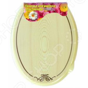 Сиденье-крышка для унитаза Violet «Беленый дуб»