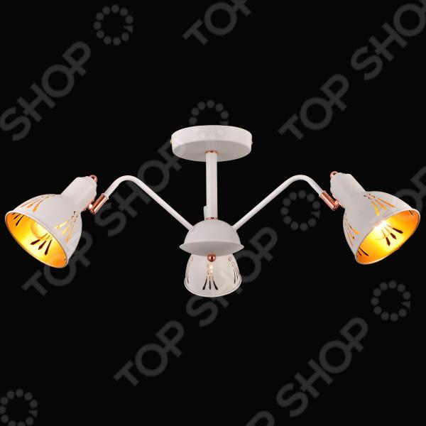 Люстра Natali Kovaltseva Favorit 75097/3c White usb перезаряжаемый высокой яркости ударопрочный фонарик дальнего света конвой sos факел мощный самозащита 18650 батареи