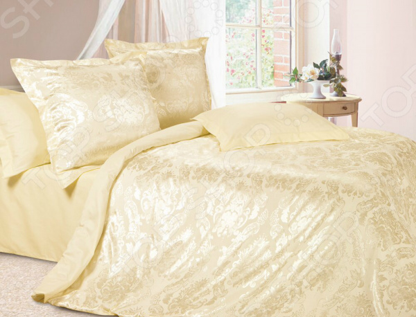 Комплект постельного белья Ecotex «Герцогиня». Семейный постельное белье ecotex комплект постельного белья герцогиня