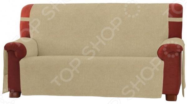 Накидка на двухместный диван Медежда «Иден» чехол на мебель медежда чехол на стул с юбкой иден коричневый
