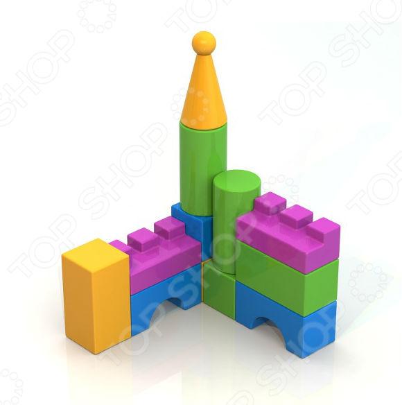Конструктор для ребенка Нордпласт «Кубики 12» кубики кубики abtoys конструктор pt 00578