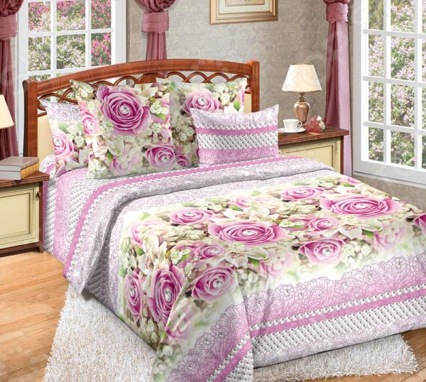 Фото Комплект постельного белья Белиссимо «Жемчуг»