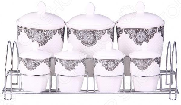 Набор банок для сыпучих продуктов Patricia IM99-5202 емкости неполимерные patricia банка 17 см шт