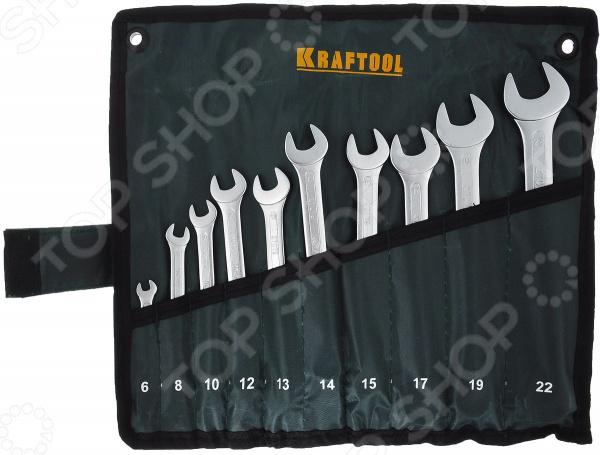 Набор гаечных ключей комбинированных Kraftool 27079-H