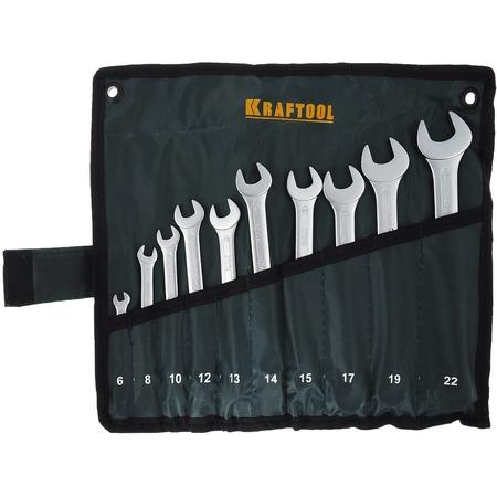 Купить Набор гаечных ключей комбинированных Kraftool 27079-H