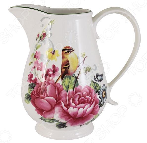 Кувшин Imari «Цветы и птицы»