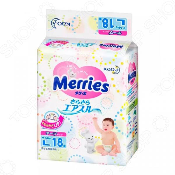 Подгузники Merries L (9-14 кг) Подгузники Merries L (9-14 кг) /