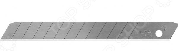 Лезвия для ножа OLFA OL-AB-50B лезвие сегментированное olfa 18х100х0 5мм 8 сегментов 50шт black max ol lbb 50b