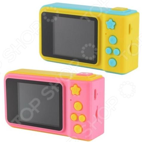 Фотокамера цифровая HD детская водонепроницаемая