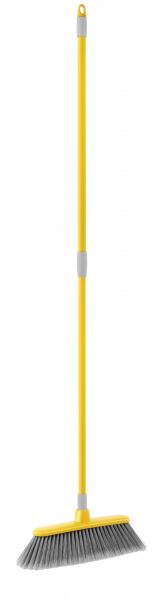 Швабра с телескопической ручкой швабра мир чистоты дуо с телескопической ручкой цвет светло зеленый серый длина 70 120 см
