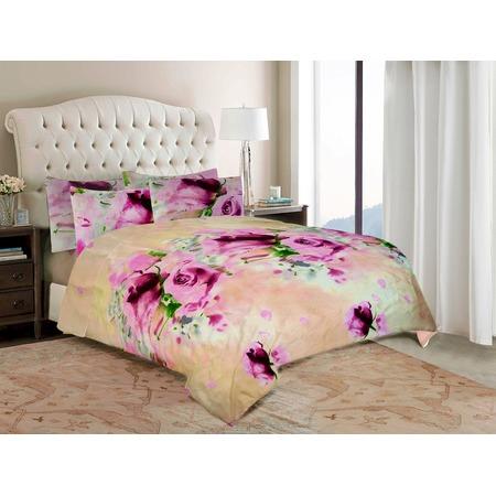 Комплект постельного белья «Розовые розы». Евро