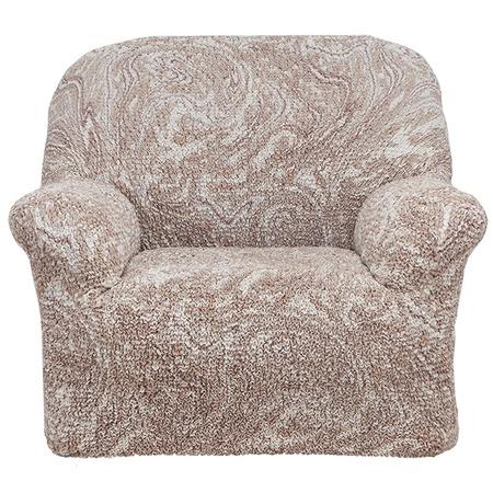 Купить Натяжной чехол на кресло Еврочехол «Виста. Буше»