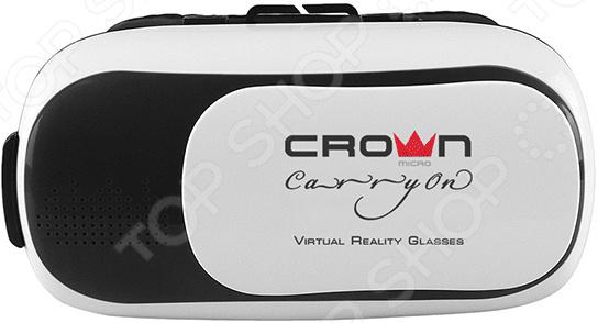 лучшая цена Очки виртуальной реальности Crown CMVR-003