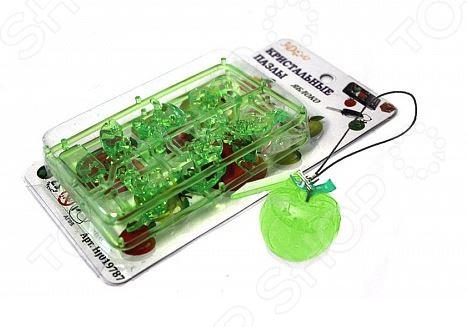 Кристальный пазл 3D Crystal Puzzle «Яблоко». В ассортименте