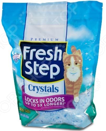 Наполнитель для кошачьего туалета Fresh Step силикагелевый