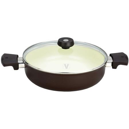Купить Кастрюля низкая Vitesse c внутренним керамическим покрытием