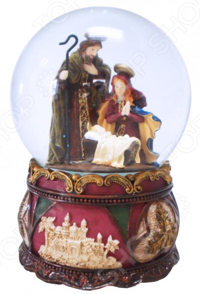 Снежный шар музыкальный Crystal Deco «Рождество» 1707562 Снежный шар музыкальный Crystal Deco «Рождество» 1707562 /