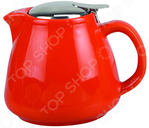 Чайник заварочный Elrington «Феличита. Глазурь» Cone чайник заварочный elrington глазурь с фильтром цвет красный 950 мл
