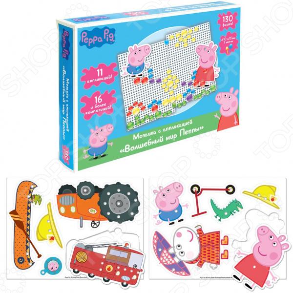 Мозаика с аппликацией Peppa Pig «Волшебный мир Пеппы»