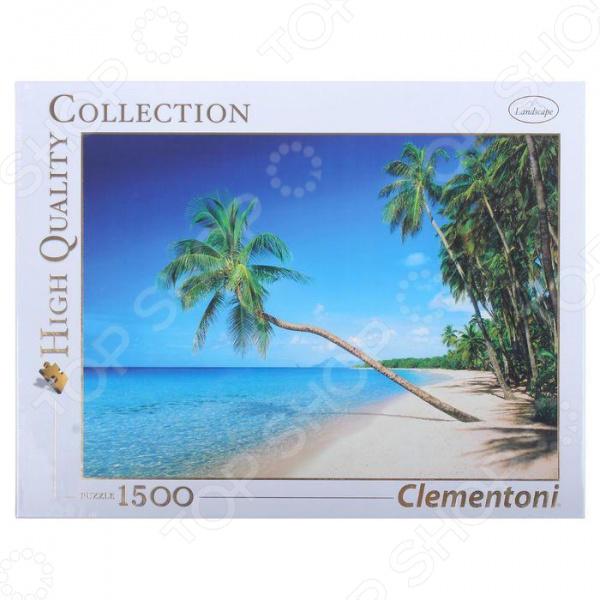 Пазл 1500 элементов Clementoni HQ «Карибские острова» пазл clementoni hq щенки лабрадора 1500 31976
