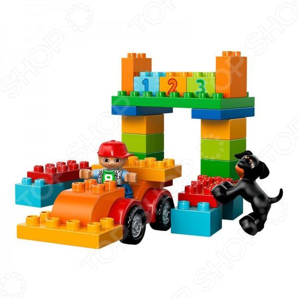 Конструктор LEGO Механик это отличный конструктор для детей, в котором найдутся все необходимые детали для создания моделей с картинки. Большие детали подойдут для детей старше двух лет, они отлично различимы для ребенка и он точно поймет что с ними необходимо делать. Конструкторы такого типа развивают пространственное и логическое мышление, фантазию, творческие способности и мелкую моторику рук. Веселые персонажи, которых ребенок соберет сам, долго будут радовать его.