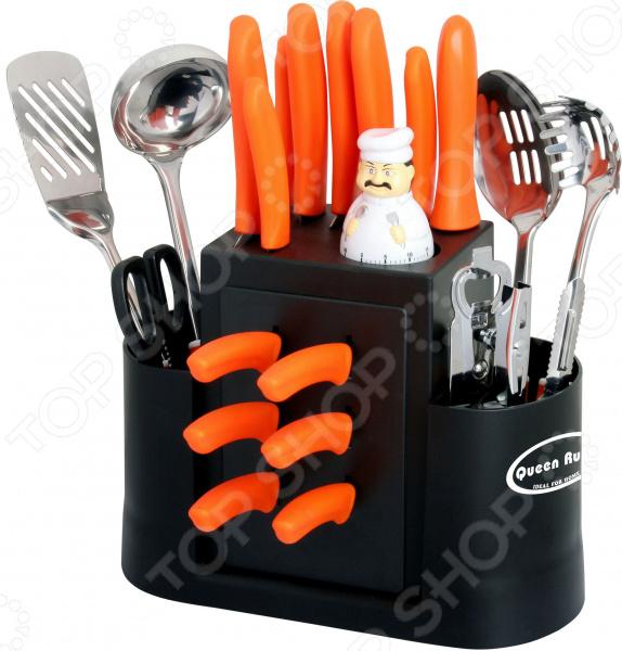 Набор кухонных принадлежностей Queen Ruby QR-8272 противень queen ruby с антипригарным покрытием 3 шт qr 8208