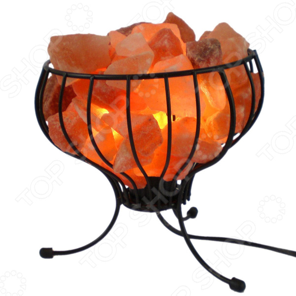 Лампа солевая Zenet «Корзина с кристаллами»
