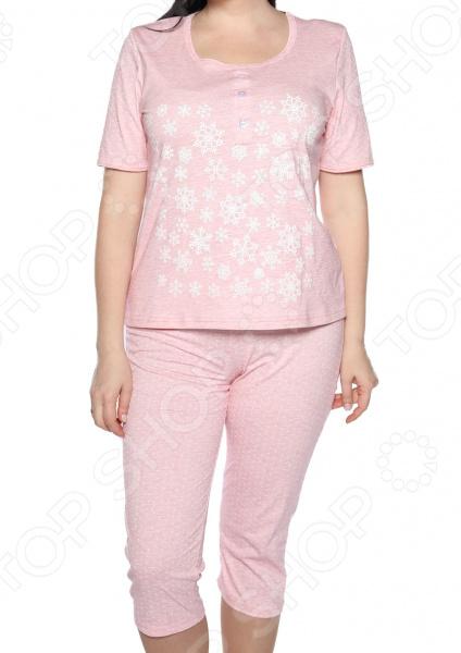 Пижама Алтекс «Счастливые дни». Цвет: розовый, синий цены
