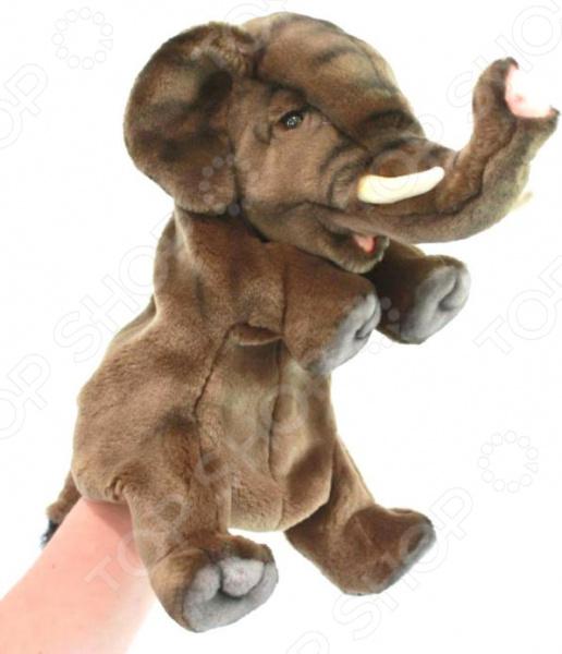 Мягкая игрушка на руку Hansa «Слон»