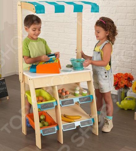Игровой набор для ребенка KidKraft «Бакалея с кассовым аппаратом»