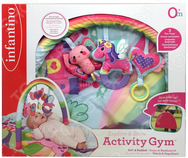 Коврик развивающий Infantino Activity Gym «Радуга»